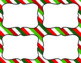 Blank Task Cards: Christmas Collection (300dpi) | Editable PowerPoint