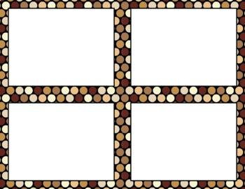Blank Task Cards: Java   Editable PowerPoint