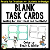Task Cards for Students to Make Their Own