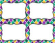 Blank Task Cards: Mardi Gras | Editable PowerPoint