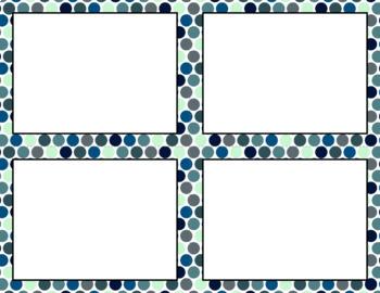 Blank Task Cards: Moonlight Sonata | Editable PowerPoint
