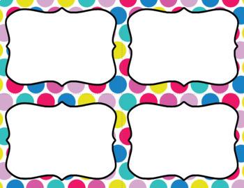 Blank Task Cards: Refresh | Editable PowerPoint
