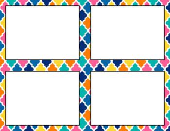 Blank Task Cards: Summer | Editable PowerPoint