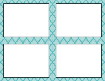 Blank Task Cards: Summer Day | Editable PowerPoint