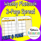 Blank Teacher Plan Book *Monthly & Weekly*