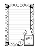 Blank Thematic Handwriting Paper 1