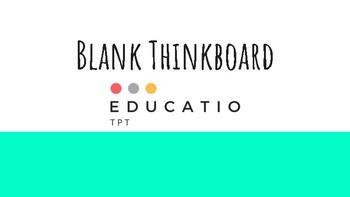 Blank Think-board Template (Freebie)
