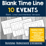 Blank Timeline - 10 Events