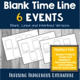 Blank Timeline - 6 Events