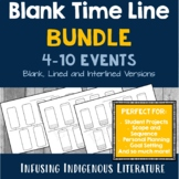 Blank Timeline Bundle: 4 - 10 Events