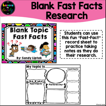 Blank Topic Fast Facts