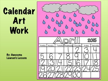 Blank, Traceable and Filled Out Calendars for 2014-2015