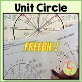 Unit Circle Freebie