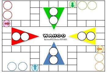 Blank Wahoo boardgame