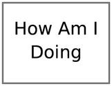 Blank Wall Classroom Behavior Chart