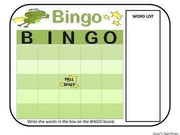 Super Frog Word Games