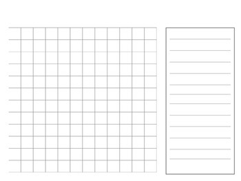Blank Word Search Template