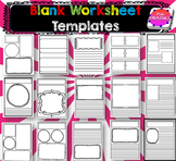Blank Worksheet Templates Ready to Go
