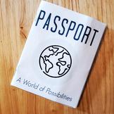 Blank World Passport