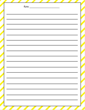 Blank Writing Paper