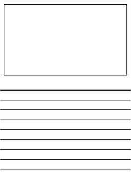 Blank Writing Paper Freebie