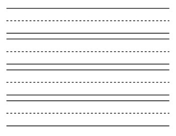 Blank Writing Paper (black and white in different sizes)