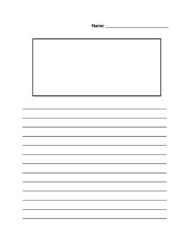 Blank Writing Template