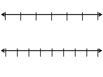 Open and Partitioned Numberlines for Fractions