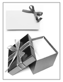 Blank gift and tag activity