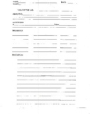Blank lab sheet for planning an investigation