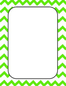 Blank pdf document with borders