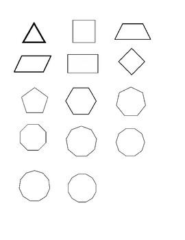 Blank polygons