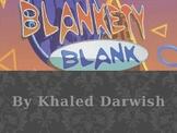 Blankety Blank game