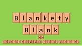 Blankety Blank vocabulary activity