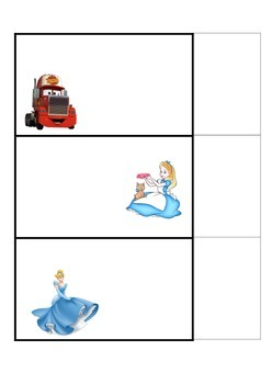 Blank Disney Tags