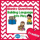 Blanks Questions - Building Language into Play - Sample
