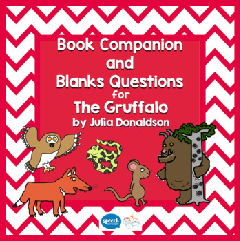 Blanks Questions - The Gruffalo