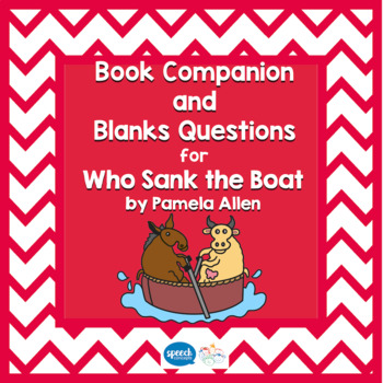 Blanks Questions - Who Sank the Boat