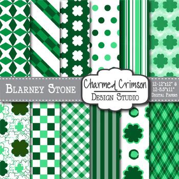 Blarney Stone Digital Paper 1040