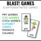 Short Vowel Phonics Blast Game