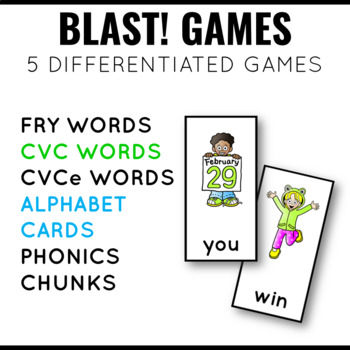 Short Vowel Phonics Blast Game