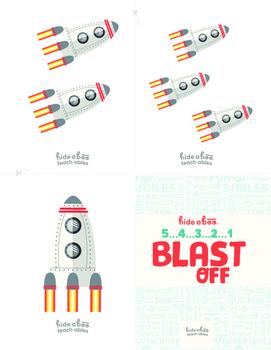 Blast Off 1-10 Number Activities