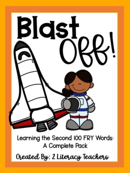 Blast Off! A Printable Sight Word Packet for the Second 100 Fry Words