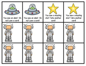 Blast Off! A Space Themed Sight Word Game (EDITABLE)