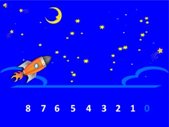 Blast Off: An Animated Counting Backwards Activity