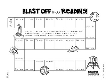 Blast Off Into Reading: A New Twist on the Reading Log