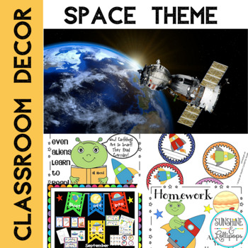 Classroom Decor Space Themed
