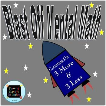 Blast Off Mental Math III {Fluency Primer for Rocket Math}