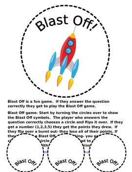 Blast Off Problem Solving Start Unknown