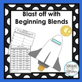 Phonics: Read the Room: Blast Off With Beginning Blends K-1